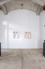 Ausstellungssituation Galerie Renate Kammer